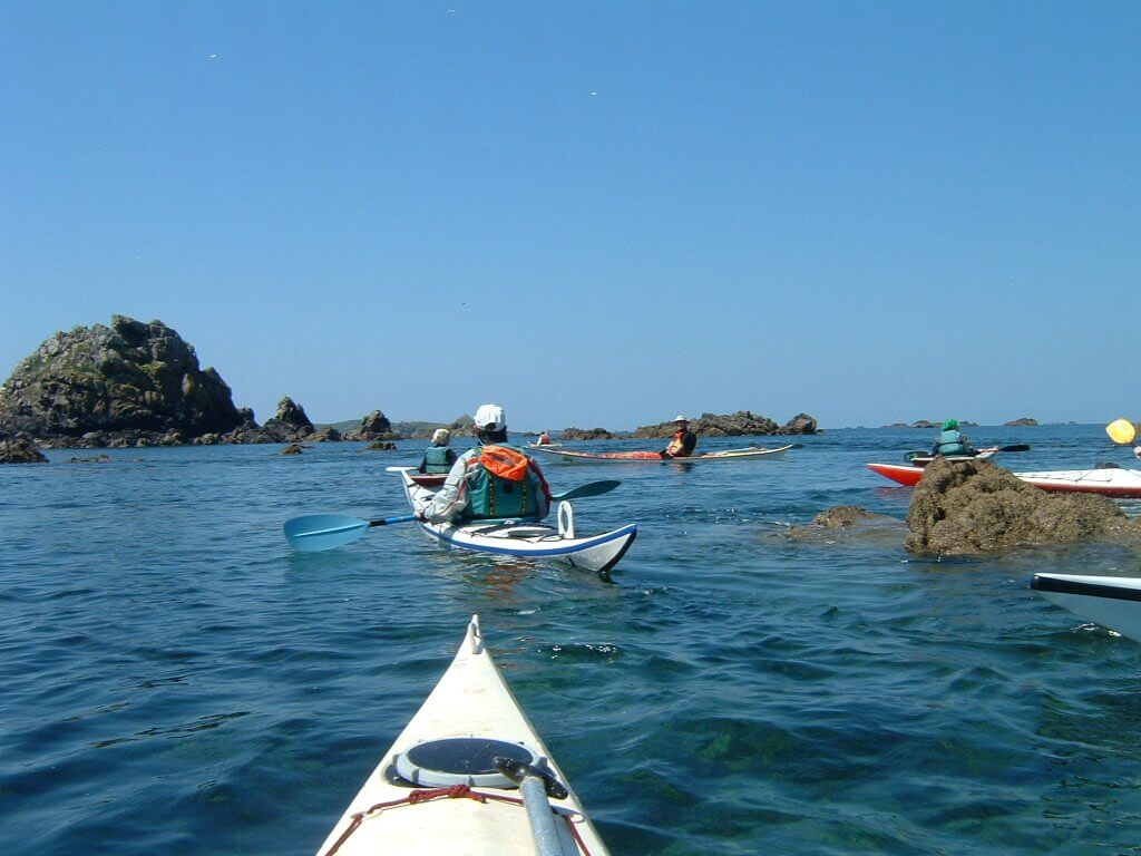 Les 7 îles (Rando Mer)